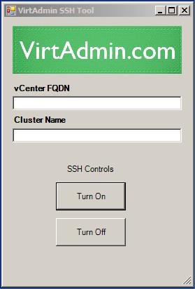 VirtAdmin SSH Tool for vSphere Clusters